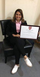 Manjiri Certificate