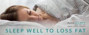 sleep well to loss obesity
